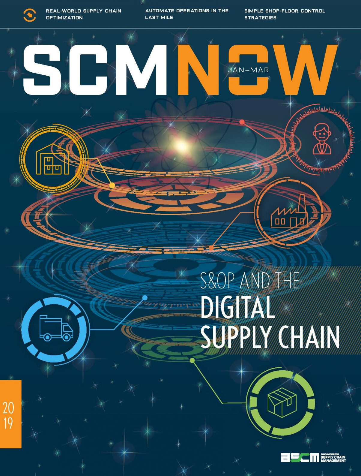 Redesign cover for ASCM